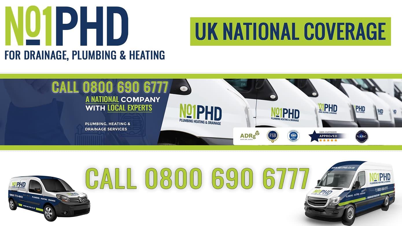 no1phd - uk drainage heating plumbing services