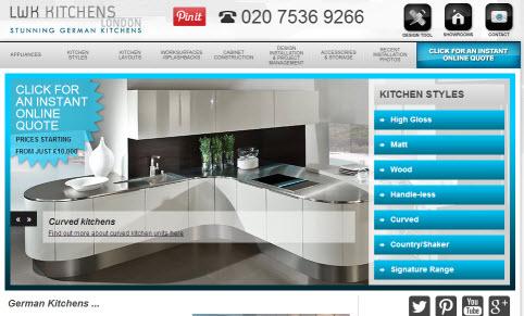 German Kitchen Suppliers London