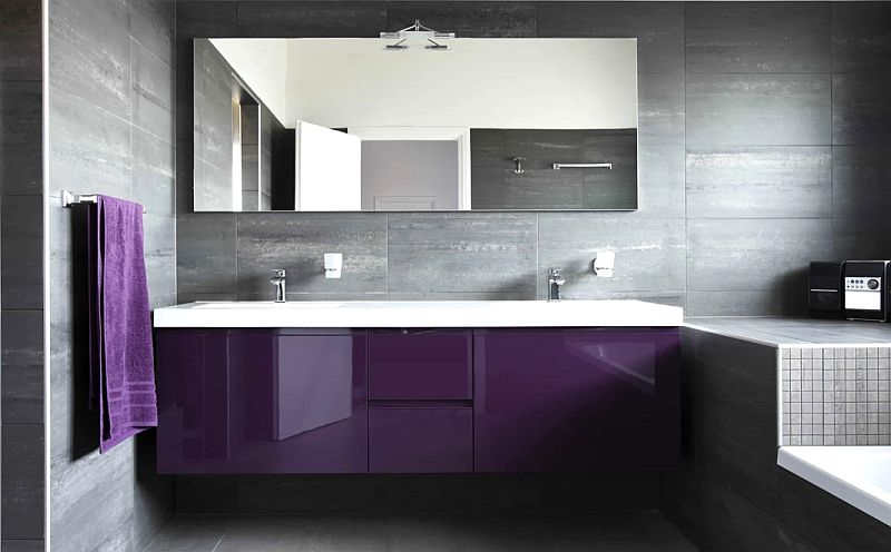 Bathroom Mirrored Splashback