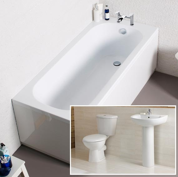 Cheap Bathroom Suite