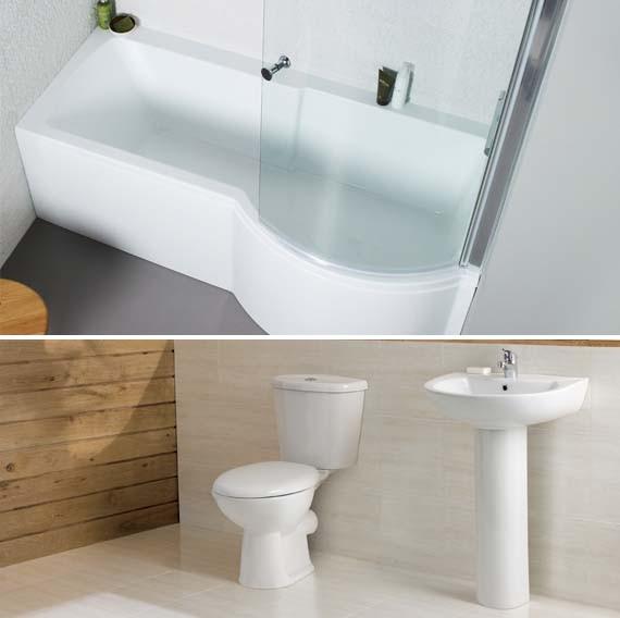 Shower bath suite
