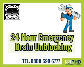 NO1PHD - 24 Hour Emergency Drainage Services
