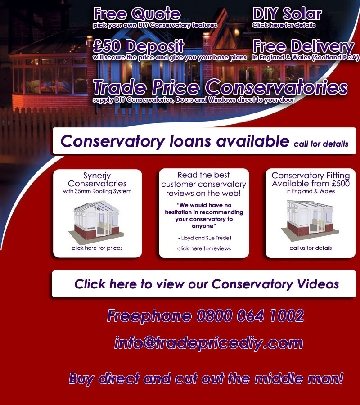 Trade Price Conservatories