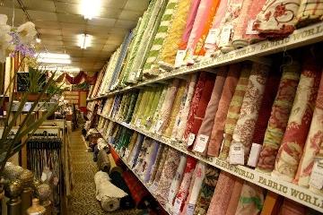 Fabric World Range of Fabrics