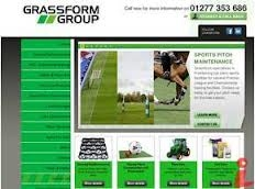 Grassform website screenshot