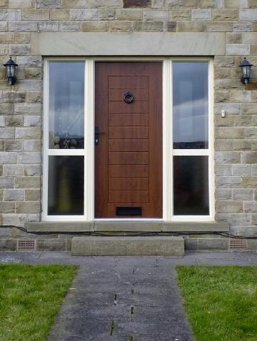 Composite-door-woodgrain