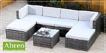 Abreo Rattan Garden Furniture
