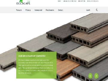 Ecoscape UK Composite Decking