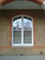 Authentic uPVC Sash Window