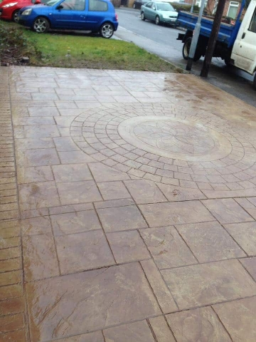 Concrete Imprint Driveways Middlesbrough