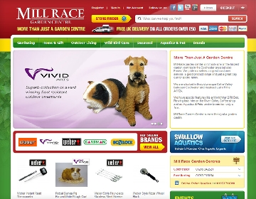 Mill Race Website