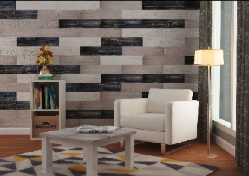 Stunning feature wall with no mess and no fuss