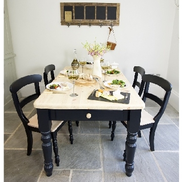 bespoke painted dining table