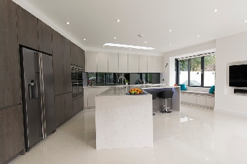 Luxury Handleless Kitchen