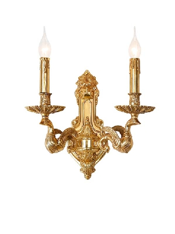 solid brass wall lamp