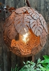 50% OFF SILVER LEAF LONG PENDANT LIGHT / BULB INCLUDED
