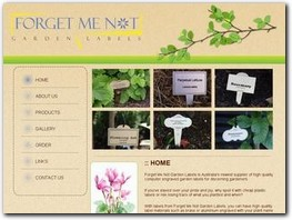 http://www.forgetmenotgardenlabels.com.au website