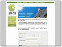 http://www.solarpanels.co.uk/ website