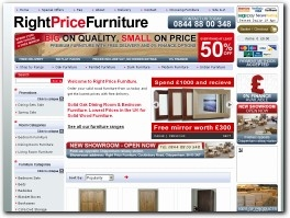http://www.rightpricefurniture.co.uk website
