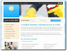 http://www.cleaner-in-leeds.co.uk website