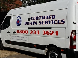 https://www.certified-drain-services.co.uk/ website