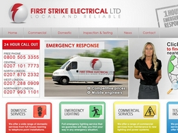 http://www.firststrikeelectrical.co.uk website