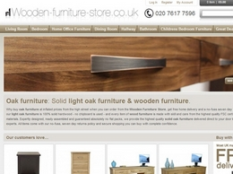 https://www.wooden-furniture-store.co.uk/ website