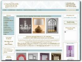 https://www.chandeliersandmirrors.co.uk website
