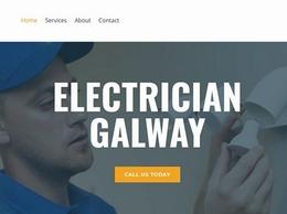 https://www.electrician-galway.com/ website