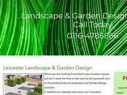 https://www.landscapegardendesignleicester.co.uk/ website