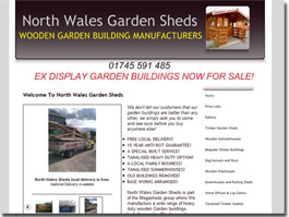 http://www.northwalesgardensheds.co.uk website
