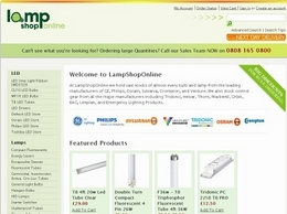 https://www.lampshoponline.com website