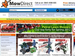 https://www.mowdirect.co.uk website