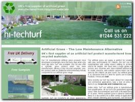 http://hitechturf.co.uk website