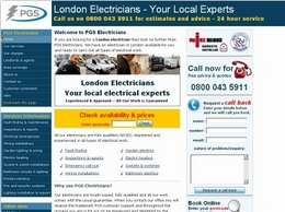 http://www.pgs-electricians.co.uk website