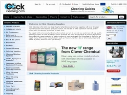 https://www.clickcleaning.co.uk/ website