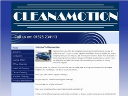 https://www.cleanamotion.co.uk/ website