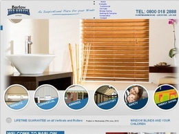https://www.barlowblinds.com website