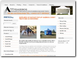 http://www.tfhgazebos.co.uk website