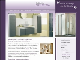 http://www.ivybridgetileandbathroom.co.uk/ website