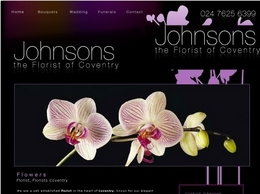 http://www.johnsonstheflorist.co.uk/ website