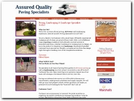 http://www.assuredpaving.co.uk/ website