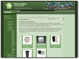 https://www.floraselect.net/ website