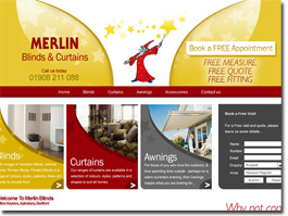 http://www.merlinblinds.co.uk website