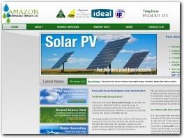 http://www.amazonrenewableenergy.co.uk/ website