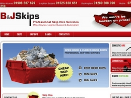 http://www.bandjcheapskips.co.uk/ website