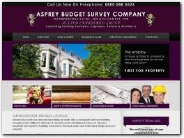 http://www.aspreysurveying.co.uk/ website