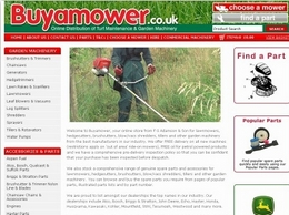 https://www.buyamower.co.uk/ website