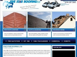 https://www.five-star-roofing.co.uk/ website
