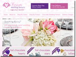 http://www.foreverweddingfavours.co.uk/ website